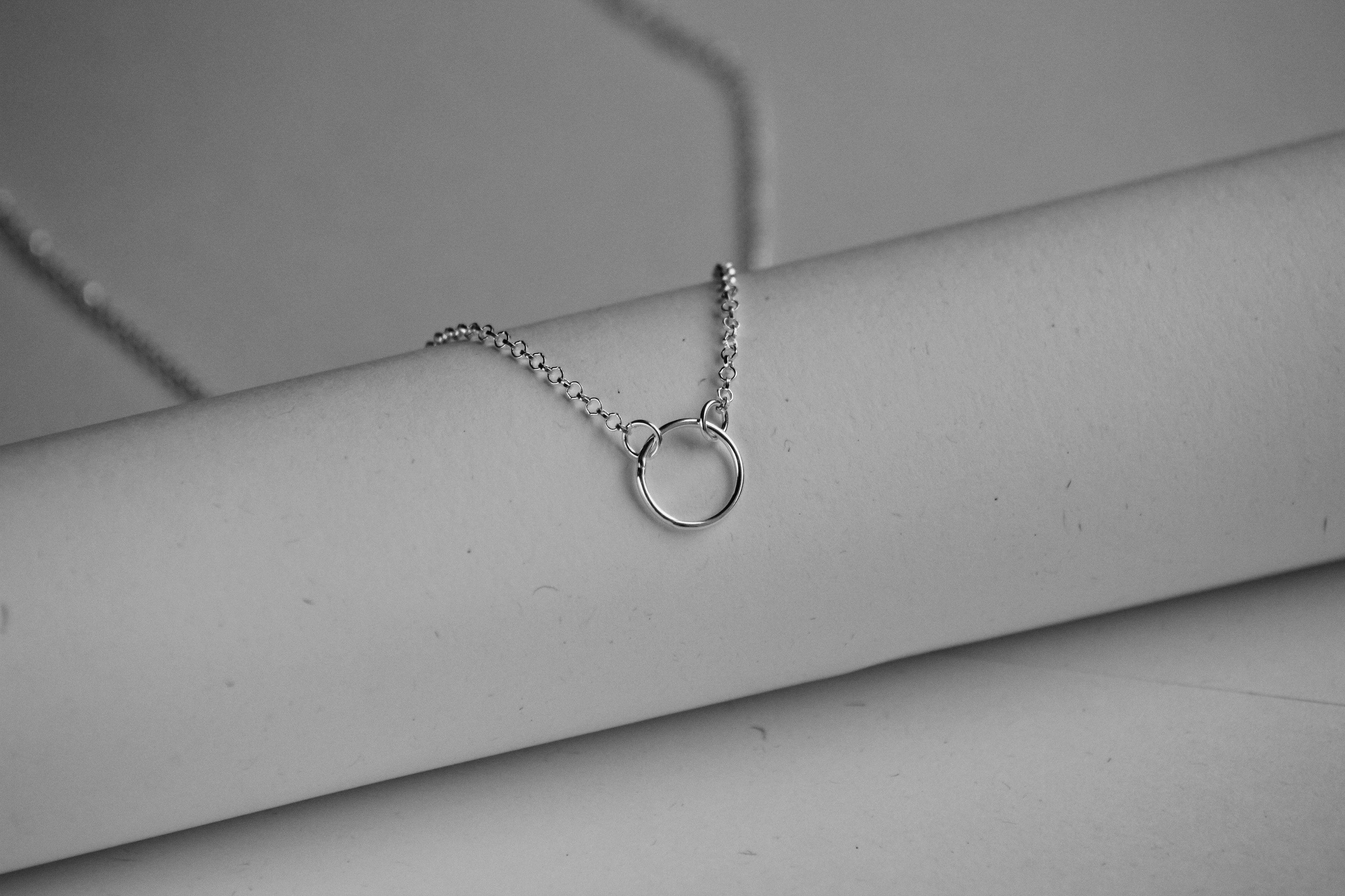 Women's Sterling Silver Necklace - The Jewellery Hut UK