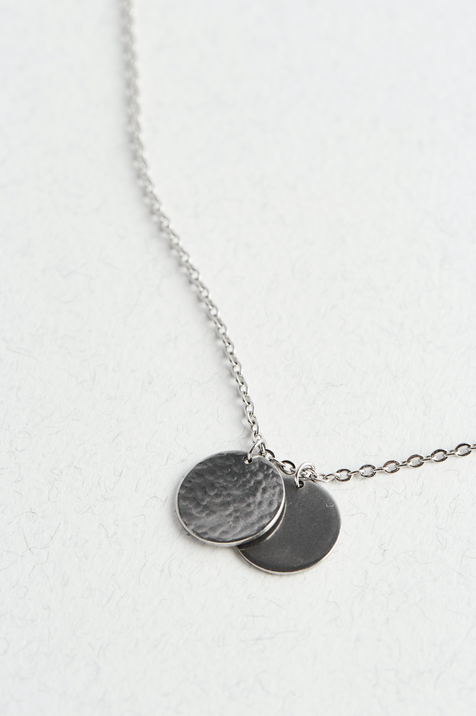 Disc Chain Necklace For Men - The Jewellery Hut UK