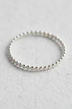 Sterling Silver Stacking Ring - The Jewellery Hut UK