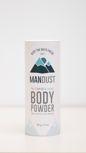 Mandust Body Powder