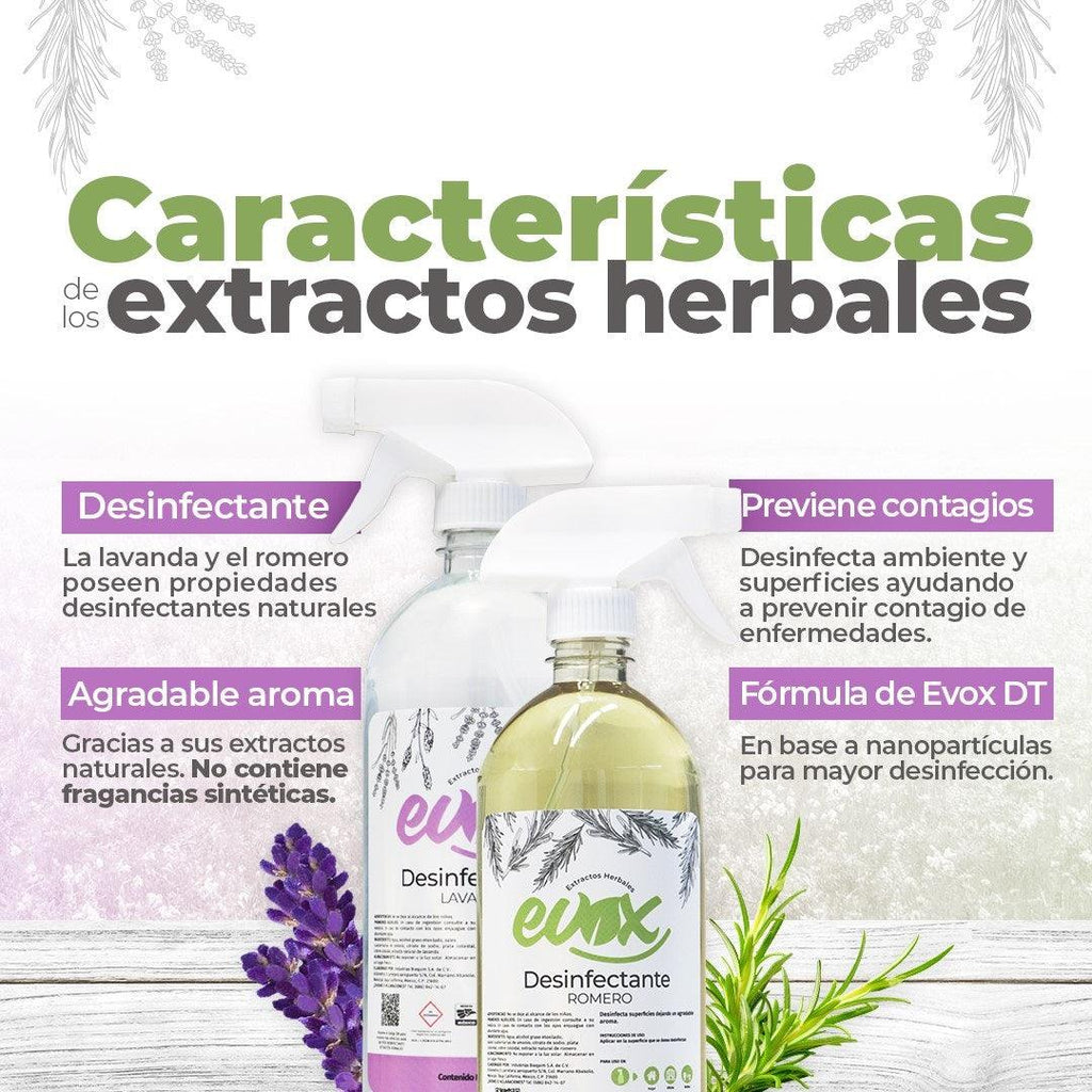 EVOX DESINFECCION HERBAL LAVANDA GL
