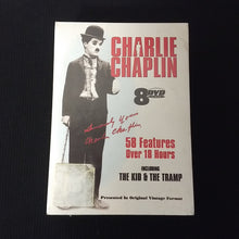 Load image into Gallery viewer, Charlie Chaplin: 8 DVD Box Set