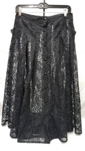 Load image into Gallery viewer, Ladies Black Lace Skirt Size 16w