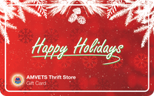 Load image into Gallery viewer, Half Price AMVETS Thrift Store Gift Card (Limited Time Only)