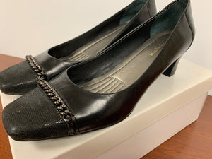 Easy Spirit Quadriva Black Leather Size 8