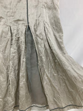 Load image into Gallery viewer, Apanage size 46 Skirt Below Knee Length Silver Gray Renaissance Festival Goth Gr