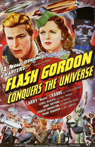 NEW Flash Gordon Conquers the Universe - Movie Cliffhanger Serial DVD Buster Cr