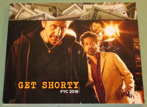 FYC 2018 GET SHORTY-Season 1-Presbook For Your Emmy Consideration (DVD-3 disc)