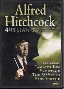 Alfred Hitchcock: 4 Spine Tingling Films From the Master of Suspence (DV