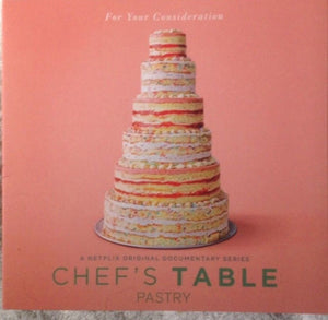 Chef's Table (Pastry)-2018 For Your Consideration-Netflix-DVD  New/Unsealed