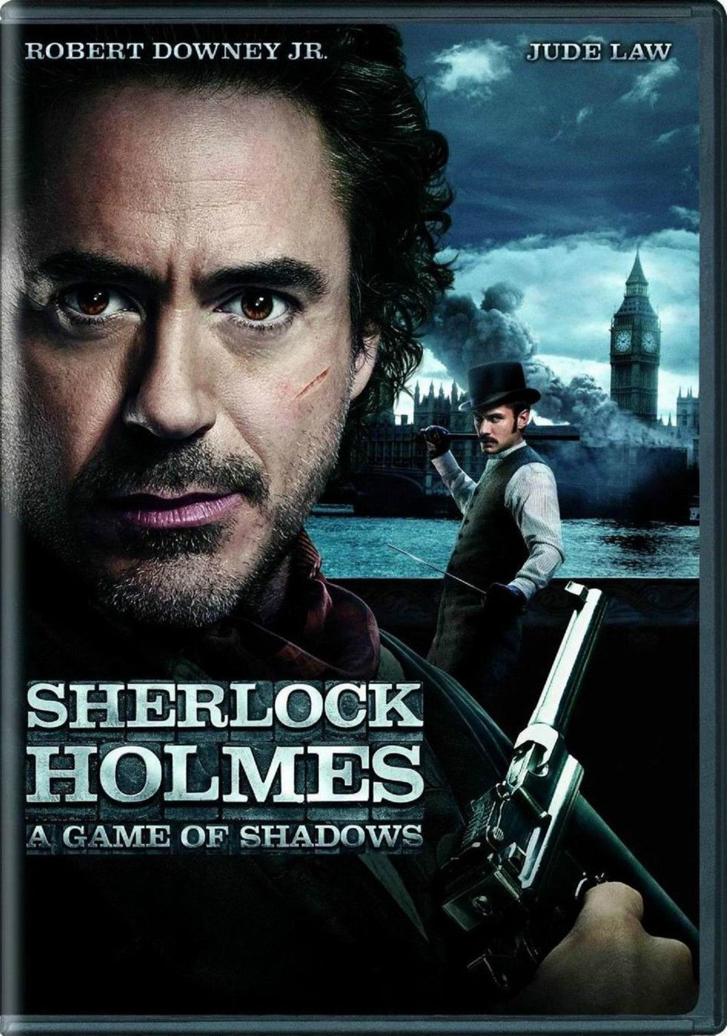 NEW Sherlock Holmes: A Game of Shadows-PROMO Robert Downey Jr (DVD)