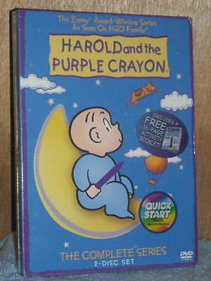Harold and the Purple Crayon - The Complete Series (DVD, 2004, 2-Disc Se