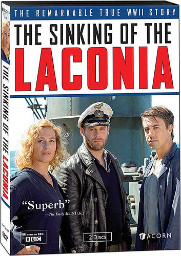 The Sinking of the Laconia, The Remarkable True WW11 Story (DVD 2012 Bri