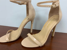 Load image into Gallery viewer, Liliana Very Light Nude Open Toe Stiletto Sandal Ankl