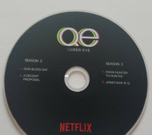 2 FYC 2018 and 2019 QUEER EYE  DVD Pressbook EMMY Netflix