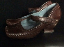 Load image into Gallery viewer, NIB indingo Duchess Cafe Brown Shoes 7.5 M Leather Mary Jane