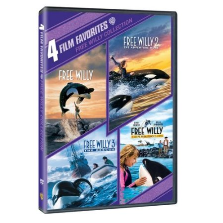 Free Willy Collection: 4 Film Favorites (DVD, 2010)