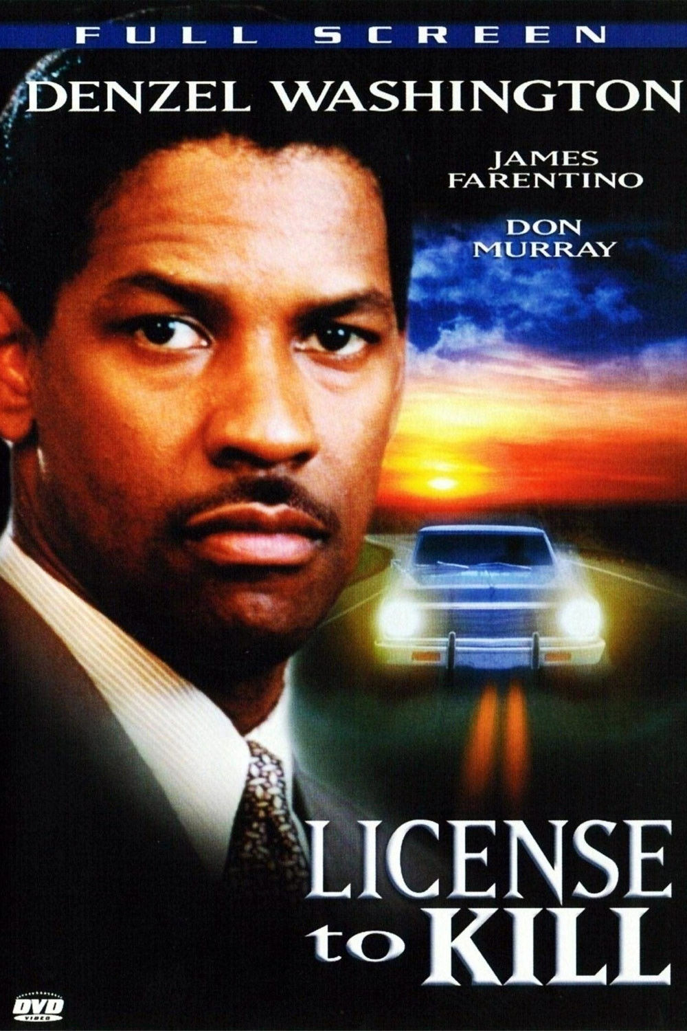 License to Kill (DVD, 2007) Denzel Washington-Full Screen Not Rated Thri