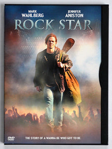 USED-Rock Star (DVD 2002,  Widescreen)   Mark Wahlberg Jennifer Aniston