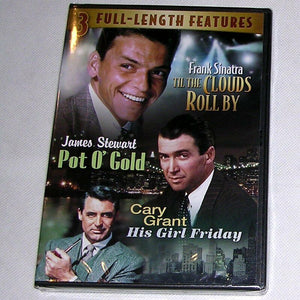 NEW Til The Clouds Roll By-Pot O' Gold-His Girl Friday Frank Santra, James Stewa