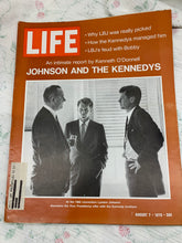 Load image into Gallery viewer, Life Magazine August 7 1970 - LBJ, Robert Kennedy, and JFK