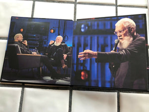 My Next Guest Needs No Introduction with David Letterman For Your Consideration-NETFLIX Pressbook DVD