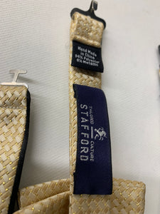 2 Mens Adjustable Bowties  *Stafford & Non Brand*