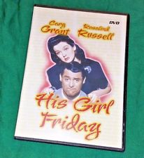 His Girl Friday (DVD 2004 B&W Digiview Productions) Cary Grant/Rosal
