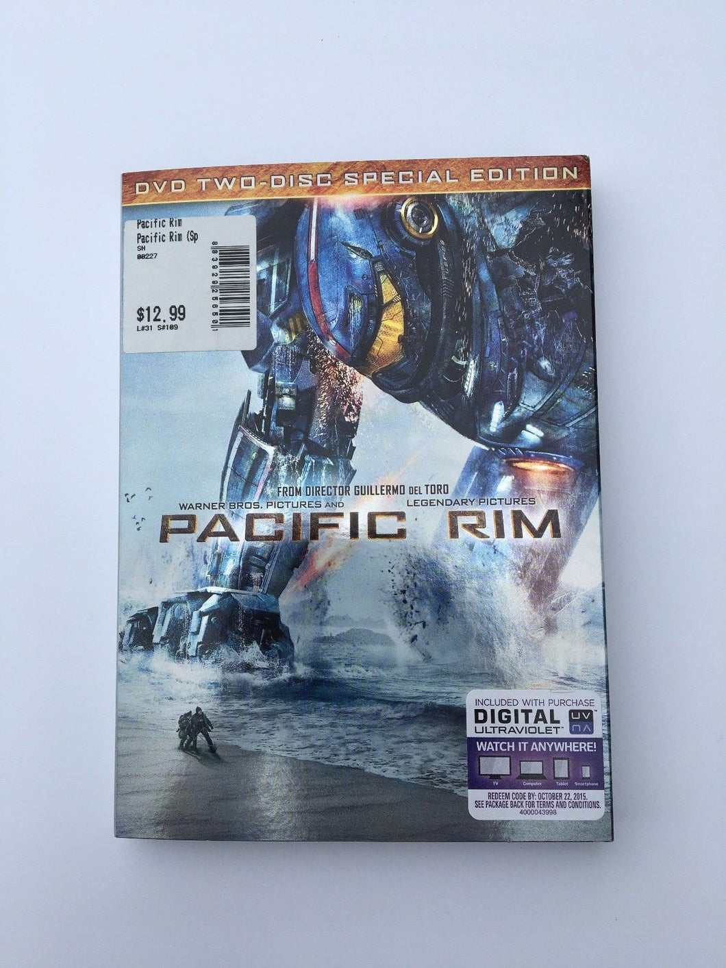 Pacific Rim (DVD, 2013, 2-Disc Special Edition Includes Digital Ultravi