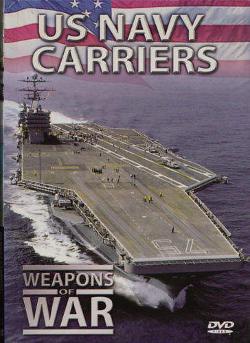 Weapons of War: US Navy Carriers DVD + BOOK Volume #3