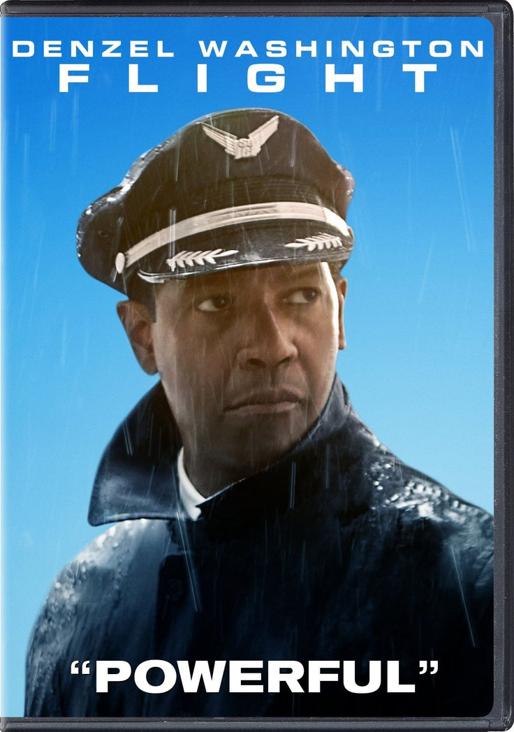 FLIGHT  (DVD, 2013) Denzel Washington/Don Cheadle/John Goodman