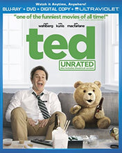 Load image into Gallery viewer, USED-Ted (Blu-ray Disc, 2012, 2-Disc Set, Unrated Includes Digital Copy UltraVio