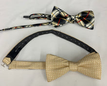 Load image into Gallery viewer, 2 Mens Adjustable Bowties  *Stafford & Non Brand*