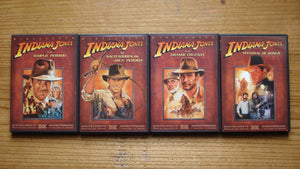 USED-The Adventures of Indiana Jones : The Complete DVD Movie Collection