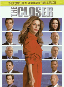 The Closer: The Complete Seventh and Final Season (DVD,2012)