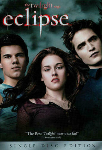 The Twilight Saga: Eclipse (DVD, 2010) TWO-dISC sPECIAL eDITION
