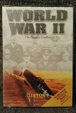 Load image into Gallery viewer, History Channel: World War II - The Greatest Conflict (DVD, 2004) Bonus:
