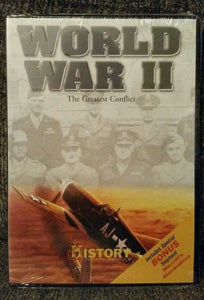 History Channel: World War II - The Greatest Conflict (DVD, 2004) Bonus: