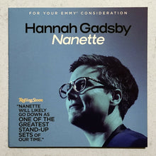 Load image into Gallery viewer, 3 FYC 2019 BONDINGl Laugh-In, Hannah Gadsby Nanette NETFLIX Emmy
