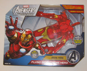 NIB Marvel Avengers Assemble Iron Man Flying RC Extreme Hero
