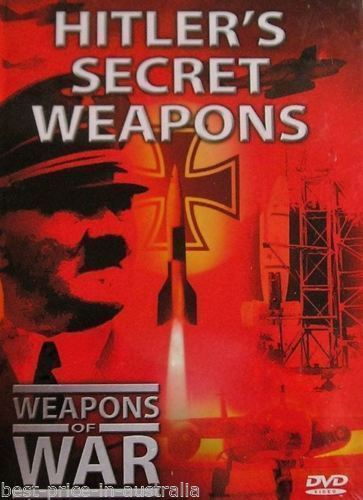 Weapons of War: Hitler's Secret Weapons DVD +Booklet #26
