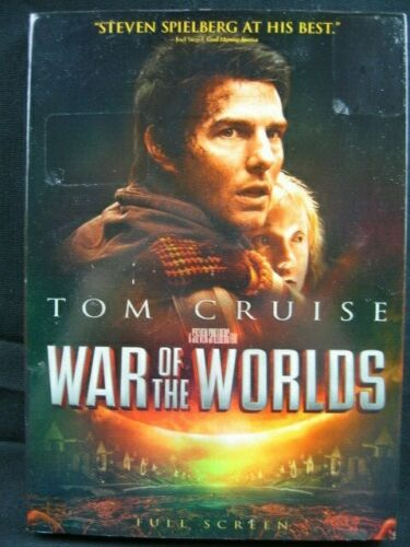 War of the Worlds (DVD, 2005, Full Screen) Dakota Fanning, Tom Cruise