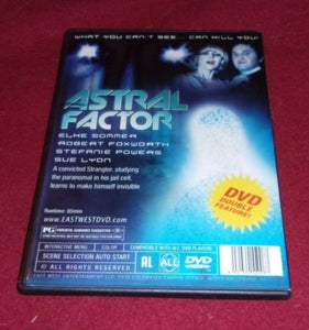 Chariots of the Gods/Astral Factor RARE OOP (DVD)