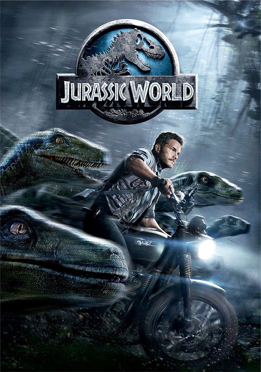 Jurassic World (DVD, 2015) Chris Pratt/Bryce Dallas Howard