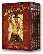 Load image into Gallery viewer, USED-The Adventures of Indiana Jones : The Complete DVD Movie Collection