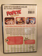 Load image into Gallery viewer, USED-Popeye The Sailor Cartoons (DVD) 14 Full Episodes