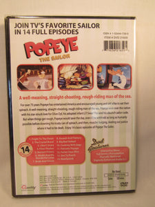USED-Popeye The Sailor Cartoons (DVD) 14 Full Episodes
