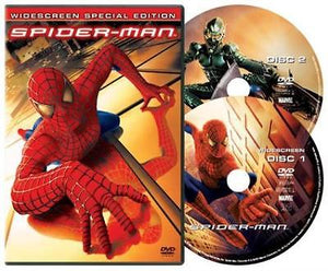 USED-Spider-Man (DVD, 2002, 2-Disc Set, Special Edition Widescreen)