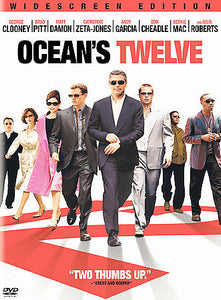 OCEANS TWELVE (DVD) and OCEANS THIRTEEN (DVD)  George Clooney, Brad Pitt