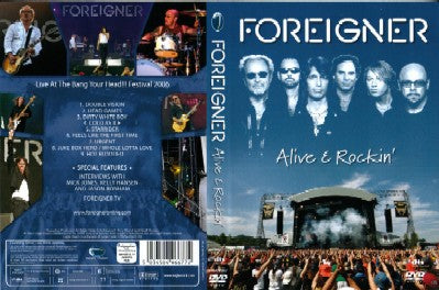 Foreigner Alive and Rockin' (DVD 2007)